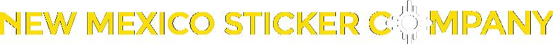 New Mexico Sticker Company Inline Logo